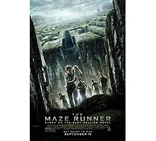 The Maze Runner: Movie Poster Photographic Print