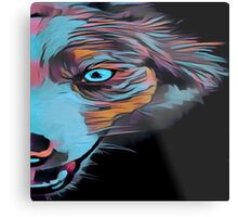 Gone Dog crazy. Modern,contemporary,painted, art Metal Print