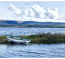 Boat, West Mainland, Orkneys Photographic Print