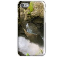 Waterfalls Trummelbach iPhone Case/Skin