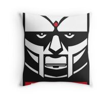 MF DOOM OBEY Throw Pillow