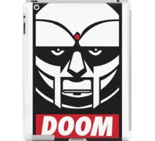 MF DOOM OBEY iPad Case/Skin