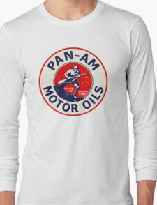 Pan Am Motor Oils Long Sleeve T-Shirt