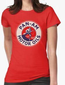 Pan Am Motor Oils Womens Fitted T-Shirt