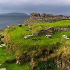 Midhowe Broch, Rousay, Orkneys by Ian Fegent
