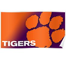 clemson tiger best Poster