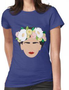 Frida Khalo 2.0 (version 2) Womens Fitted T-Shirt
