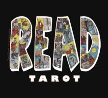 Be Well Read - READ TAROT (Black) by NorthStarTarot
