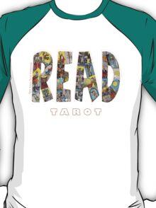 Be Well Read - READ TAROT (Black) T-Shirt