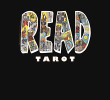 Be Well Read - READ TAROT (Black) Unisex T-Shirt