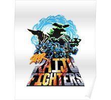 Super Kaiju Fighters Poster