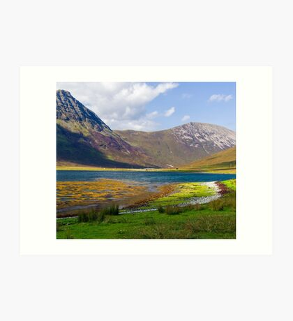 Red Cuillin, Skye Art Print