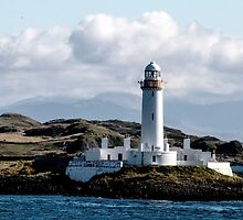 Isle of Mull Lighthouse by Marylou Badeaux