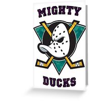 Mighty Ducks Greeting Card