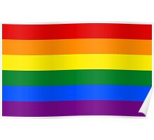 Gay Pride Flag Poster