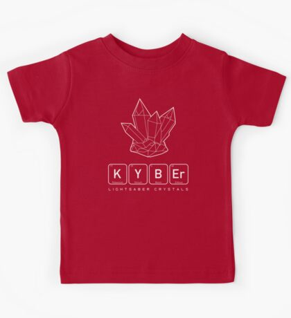 Kyber Crystals (v1) Kids Tee