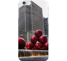 A Christmas Card from New York City - Fifth Avenue Sophistication iPhone Case/Skin