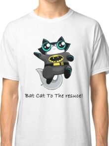Bat Cat To The Rescue Tshirt  Classic T-Shirt