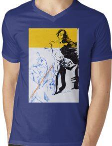 Figures Mens V-Neck T-Shirt