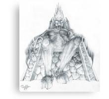 Morgoth Bauglir Canvas Print