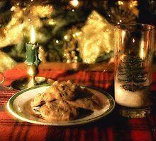 Waiting For Santa by Lois  Bryan