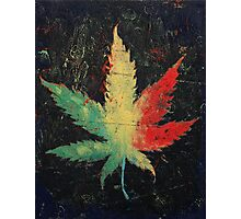 Marijuana Photographic Print