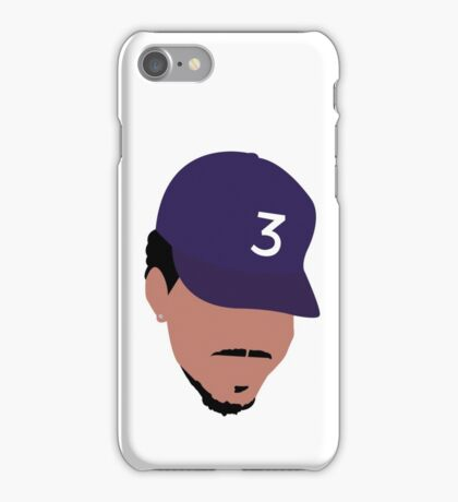 Minimalist Chance The Rapper  iPhone Case/Skin