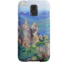 Three Sisters Echo Point, Blue Mountians NSW. Samsung Galaxy Case/Skin