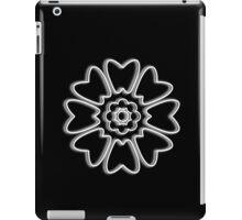 Minimalist White Lotus iPad Case/Skin