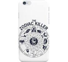 Zodiac Killer-Sagittarius iPhone Case/Skin