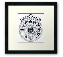 Zodiac Killer-Sagittarius Framed Print