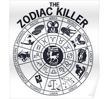 Zodiac Killer-Sagittarius Poster