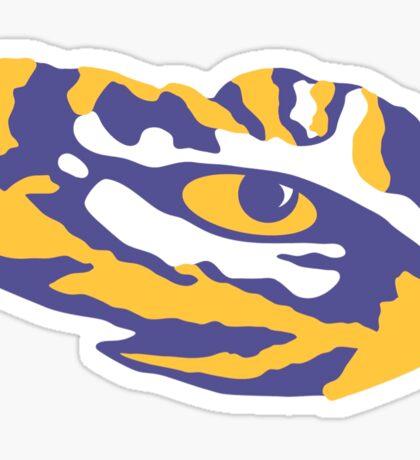 LSU Eye of the Tiger Sticker