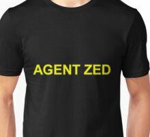 Agent Zed Unisex T-Shirt