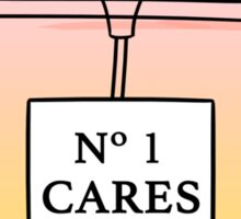 No. 1 Cares Sticker