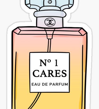 No. 1 Cares Sticker