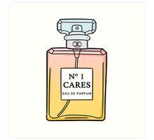 No. 1 Cares Art Print