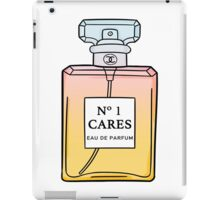 No. 1 Cares iPad Case/Skin