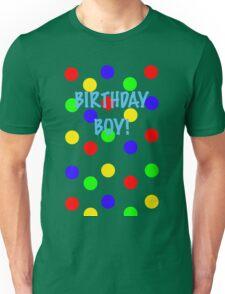 Birthday Boy! Colors Unisex T-Shirt
