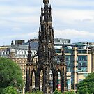 Scott Monument, Edinburgh, Scotland by fotosic
