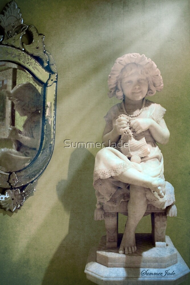 Little Knitter ~ Reflections of Old by SummerJade