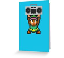 Ghetto Blaster Link Greeting Card