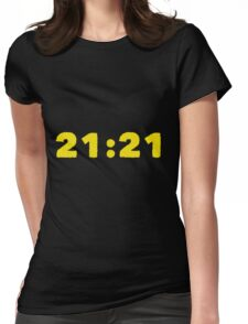 21:21 Womens Fitted T-Shirt