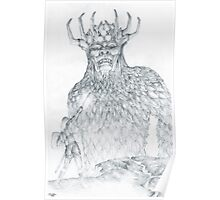 Morgoth and Fingolfin Poster