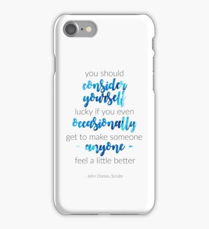 Scrubs Finale Quote iPhone Case/Skin