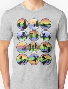 outdoor sports Unisex T-Shirt