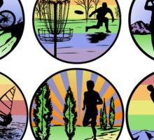 outdoor sports Sticker