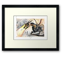 Cyber Dragon Framed Print
