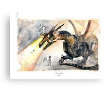 Cyber Dragon Canvas Print