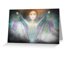 ...   Angel  Wings of a rare kind    ... Greeting Card